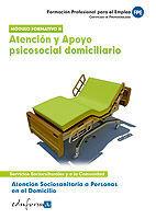 ATENCIÓN SOCIOSANITARIA A PERSONAS EN EL DOMICILIO.ATENCIÓN Y APOYO PSICOSOCIAL