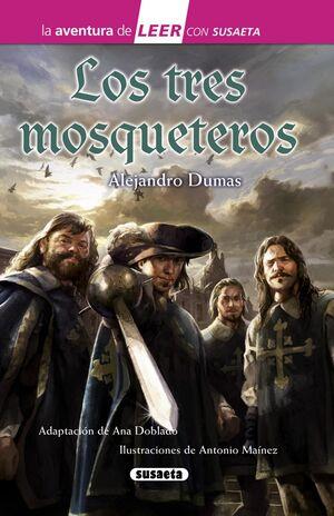TRES MOSQUETEROS - AVENTURA DE LEER ROSA