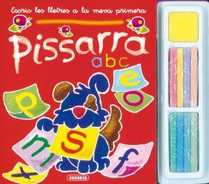 ESCRIC LES LLETRES A LA MEVA PRIMERA PISSARRA