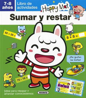 SUMAR Y RESTAR 7-8 AÑOS
