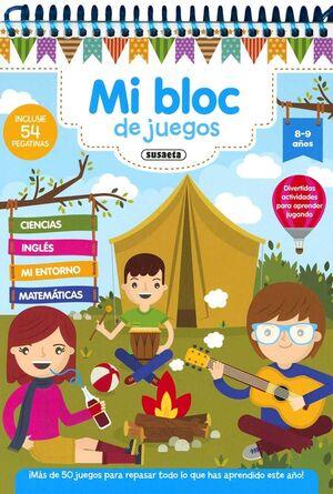 MI BLOC DE JUEGOS 8-9 AÑOS