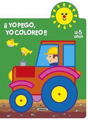¡YO PEGO, YO COLOREO! 4-5 AÑOS