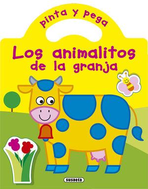 PINTA Y PEGA LOS ANIMALITOS DE LA GRANJA
