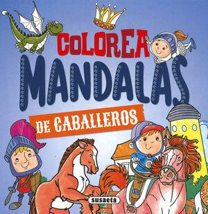 COLOREA MANDALAS. CABALLEROS