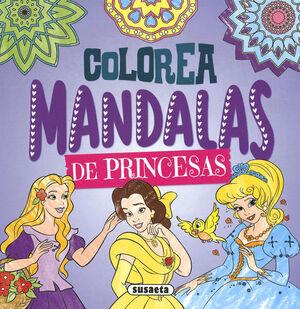 COLOREA MANDALAS. PRINCESAS