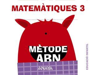 MATEMÀTIQUES ABN 3. (QUADERNS 1, 2 I 3)