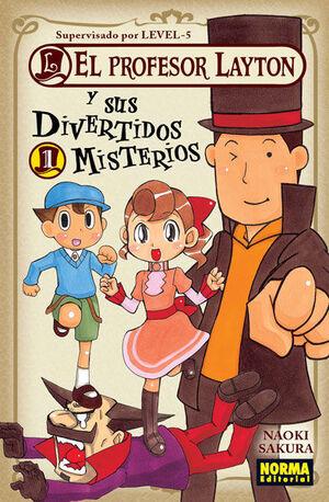 EL PROFESOR LAYTON Y SUS DIVERTIDOS MISTERIOS 1