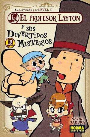 EL PROFESOR LAYTON Y SUS DIVERTIDOS MISTERIOS 2