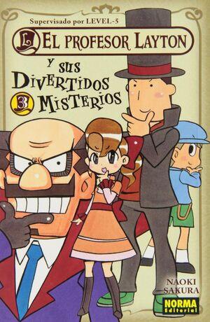 EL PROFESOR LAYTON Y SUS DIVERTIDOS MISTERIOS 3
