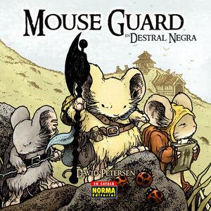 MOUSE GUARD, DESTRAL NEGRA