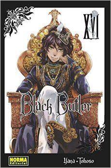 BLACK BUTLER VOL 16