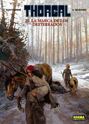 THORGAL 20 LA MARCA DE LOS DESTERRADOS