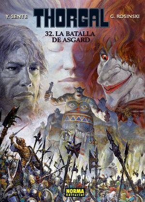 THORGAL 32 LA BATALLA DE ASGARD