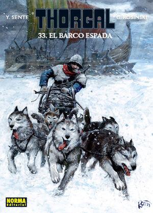 THORGAL 33 EL BARCO ESPADA