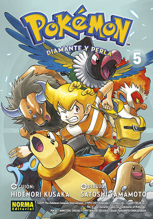 POKÉMON 21. DIAMANTE Y PERLA 5