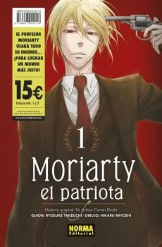 PACK INICIACION MORIARTY EL PATRIOTA 01+02