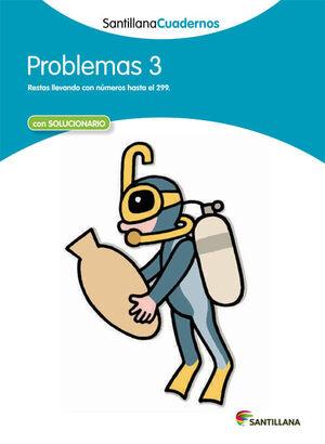 PROBLEMAS 3 SANTILLANA CUADERNOS