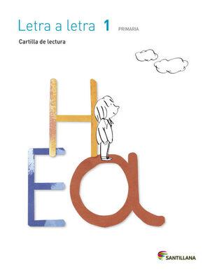 CARTILLA DE LECTURA LETRA A LETRA 1 PRIMARIA