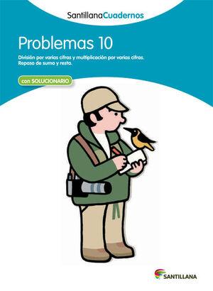 PROBLEMAS 10 SANTILLANA CUADERNOS
