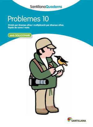 SANTILLANA QUADERNS PROBLEMES 10