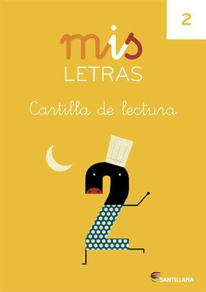 MIS LETRAS CARTILLA DE LECTURA 2
