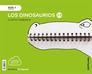 CUANTO SABEMOS NIVEL 3 LOS DINOSAURIOS 3.0