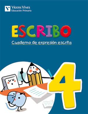 ESCRIBO. CUADERNO EXPRESION ESCRITA 4
