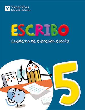 ESCRIBO. CUADERNO EXPRESION ESCRITA 5
