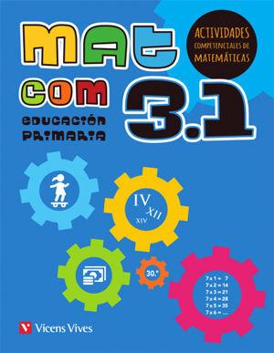 MAT COM 3 (3.1-3.2-3.3) ACTIVIDADES COMPETENCIALES