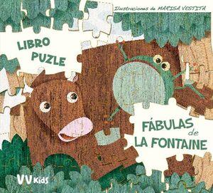 LAS FABULAS DE LA FONTAINE PUZLE (VVKIDS)