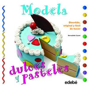 MODELA DULCES Y PASTELES CON PLASTILINA