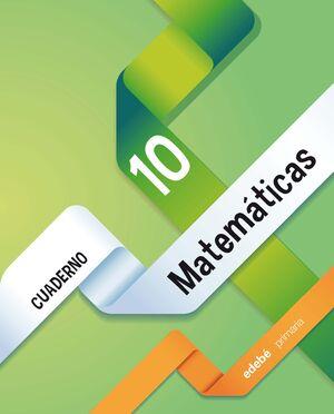 CUADERNO 10. MATEMÁTICAS 4