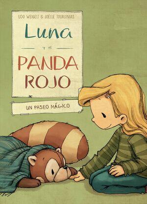 3. LUNA Y EL PANDA ROJO EN UN PASEO MÁGICO