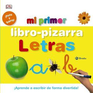 MI PRIMER LIBRO-PIZARRA. LETRAS