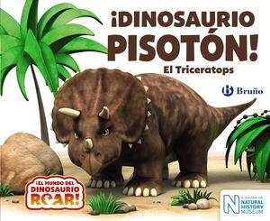 ¡DINOSAURIO PISOTÓN! EL TRICERATOPS