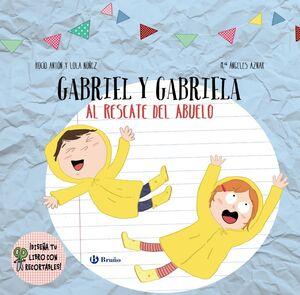 DISEÑA TU LIBRO CON RECORTABLES. GABRIEL Y GABRIELA AL RESCATE DEL ABUELO
