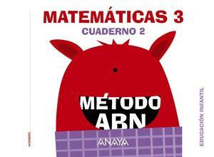 MATEMÁTICAS ABN. NIVEL 3. CUADERNO 2.