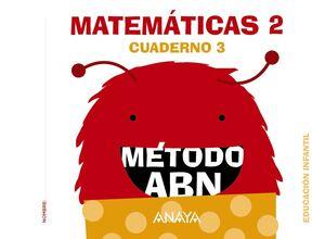 MATEMÁTICAS ABN. NIVEL 2. CUADERNO 3.