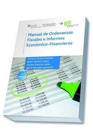 MANUAL DE ORDENANZAS FISCALES E INFORMES ECONÓMICO-FINANCIEROS
