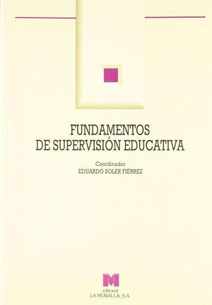 FUNDAMENTOS DE SUPERVISIÓN EDUCATIVA