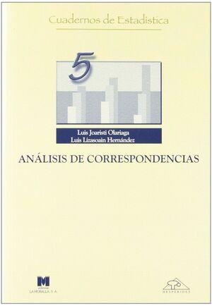 ANÁLISIS DE CORRESPONDENCIA