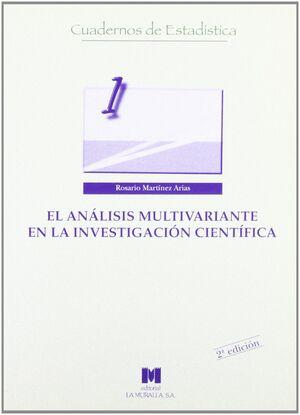 EL ANÁLISIS MULTIVARIANTE EN LA INVESTIGACIÓN CIENTÍFICA
