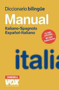 MANUAL ITALIANO-SPAGNOLO, ESPAÑOL-ITALIANO