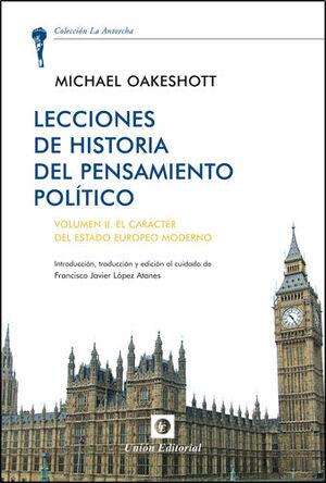 LECTURAS DE HISTORIA DEL PENSAMIENTO POLÍTICO