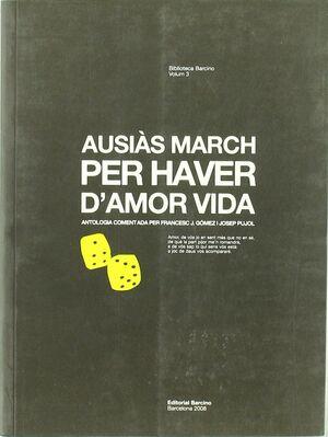 PER HAVER D'AMOR VIDA