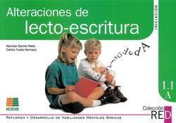 ALTERACIONES DE LECTO-ESCRITURA. INICIACIÓN 1.1 A. COLECCIÓN RED