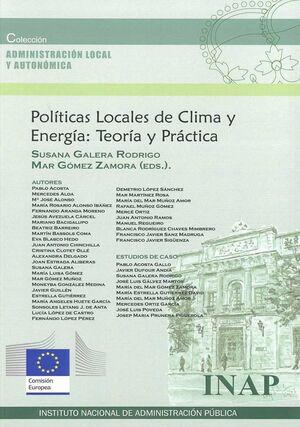 POLÍTICAS LOCALES DE CLIMA Y ENERGÍA:TEORÍA Y PRÁCTICA
