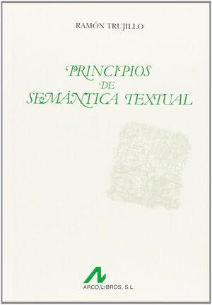 PRINCIPIOS DE SEMÁNTICA TEXTUAL