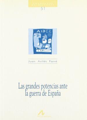 LAS GRANDES POTENCIAS ANTE LA GUERRA DE ESPAÑA