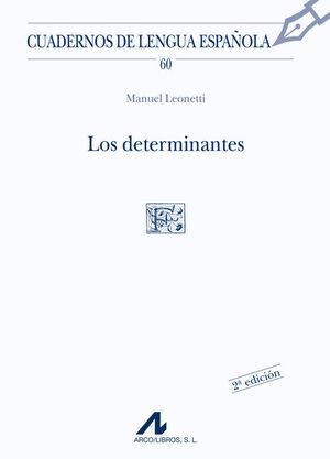 LOS DETERMINANTES (F CUADRADO)